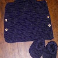 blue and white knitted sweater Baltimore, 21223