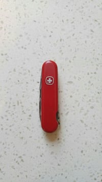 Victorinox Army Knife with leather pouch