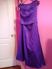 women's purple sleeveless dress Calgary, T3K 4H5