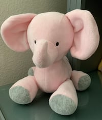 Carter's Plush Pink Elephant Musical Wind Up Toy Mission Viejo, 92691