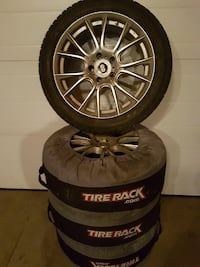 Enkel rims and Michelin x ice winter tires