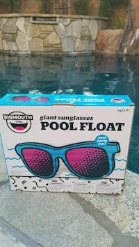 Giant Sunglasses Pool Float