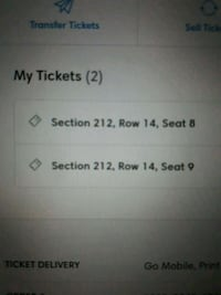 1 bts ticket and a ride