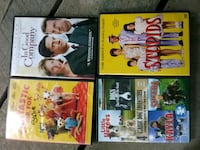 four assorted DVD movie cases Crossville, 38555