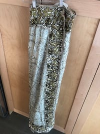 Ivory and Gold Sari New Westminster, V3M 6L4