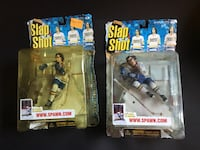 Slap shot Hanson brothers collectors toy figurines hockey collectables  Whitby, L1N 7V9
