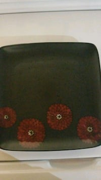 black and red floral textile Sherwood Park, T8A