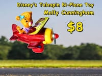 "Vintage Disney Talespin Plane Toy ""Molly"" Bethesda, MD, USA"