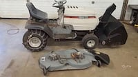Riding mower tractor with snow blower Ingleside, 60041