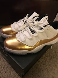 Jordan 11 low white and gold Alexandria, 22304