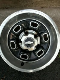 4 14in Chevy complete rim set Syracuse, 13207
