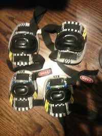 NEW bike elbow knee pads set