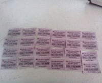 24 Playland ride tickets