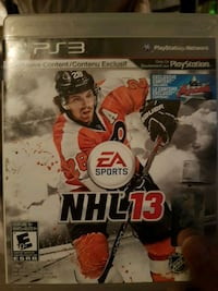 NHL 17 Sony PS3 game case Dartmouth, B3A 4C5