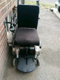 black and gray motorized wheelchair Denver, 80220