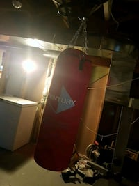 Red punching bag Ottawa, K1S 2C8