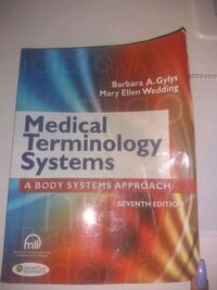 Medical Terminology systems Texts book  Cambridge, N1R 2X6