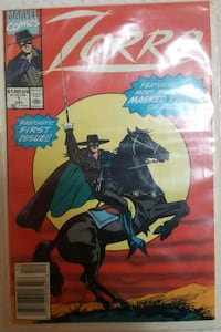 Marvel Comics - Zorro (first issue) Hialeah, 33012