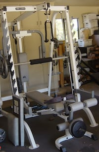 Keys Fitness Power System Half Cage with attachments & More