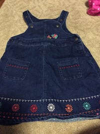 JUST REDUCED   MORE  jean dress 12 m  Rockville