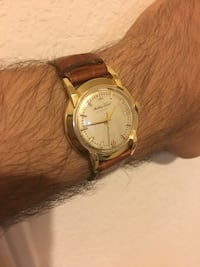 Vintage Mathey Tissot 14K Solid Automatic Movement Watch - Close To Mint And Barely Used. Frisco, 75034
