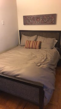 West Elm Bedframe (Queen) 41 km
