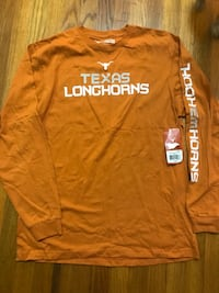 Texas longhorn long sleeved shirt size large Irving, 75061