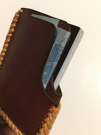 Hand made leather card wallet Toronto, M4S 1A1