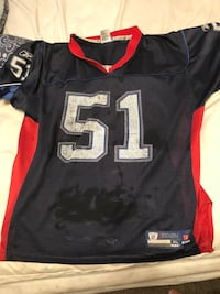 black and red NFL jersey Buffalo, 14206