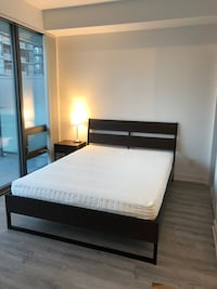 Queen Bed with Mattress TORONTO