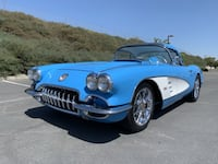 1958 Chevrolet Corvette No trim field Benicia