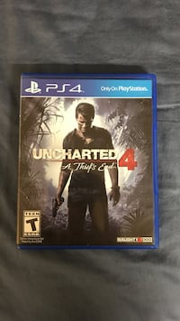 Uncharted 4 PS4 game case Abilene, 79601