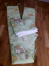 crib protector, duvet and pillow Greater London, N17 0JN