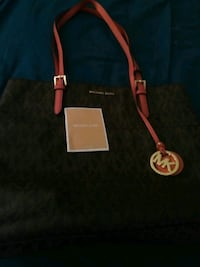 black and red Michael Kors leather tote bag York, 17402