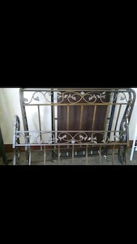 Wrought iron sleigh bed (full/queen) Cleveland, 44109