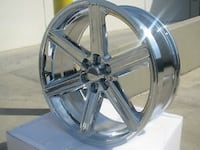 26 inch iroc wheels and tires package deal 6x139 fits gmc Chevy Cadillac tires available  Lincoln Park, 48146