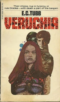 Veruchia (Pocket Book) (Dumarest of Terra #8) by E.C. Tubb PB 1st Ace 86180 Pick-up in Newmarket  Other Dumarest E. C. Books are available !  Pick-up in Newmarket  (ref # bx 7 eb/apps) Newmarket