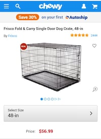 Large dog crate  Cary, 27519