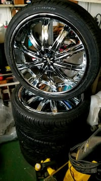 Universal Low profile tires, Rims.  Berwyn, 60402