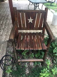 Char wood chair Brentwood, 37027