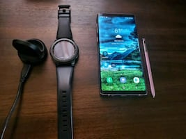 Samsung note 9 unlocked and gear s3 frontier