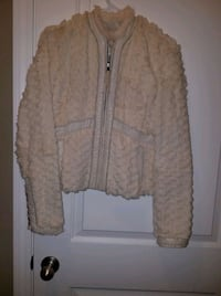 Real faux Fur coat beautiful size small  Fall River