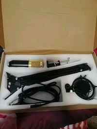 Zingyou microphone with accessories  Wyoming, 49519