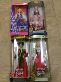4 Collector Edition Barbie Dolls Fredericksburg, 22401