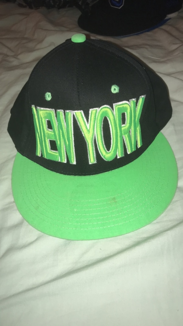 73319e60274 Used Black and green new york yankees cap for sale in Mc Lean - letgo