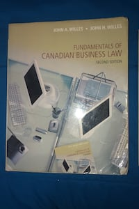 Fundamentals of Canadian Business Law Second Edition  Mississauga, L5J 3T2