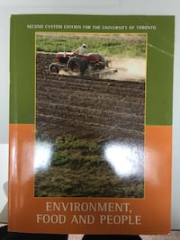 Environment food and people textbook Toronto