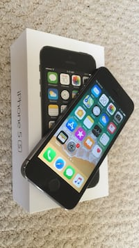 Gray iPhone 5S with box