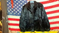 Genuine black rabbit fur coat Stockton, 95210