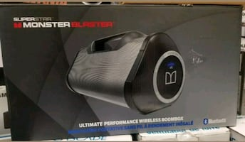 "SPEAKER "" NEW "" MONSTER BLASTER"